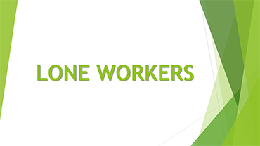 Introduction to Personal Safety for Lone Workers Training Course